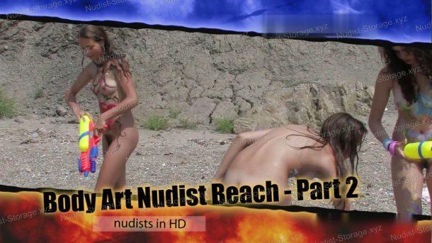 Screenshot Body Art Nudist Beach - Part 2