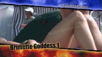 Candid-HD Brunette Goddess 1
