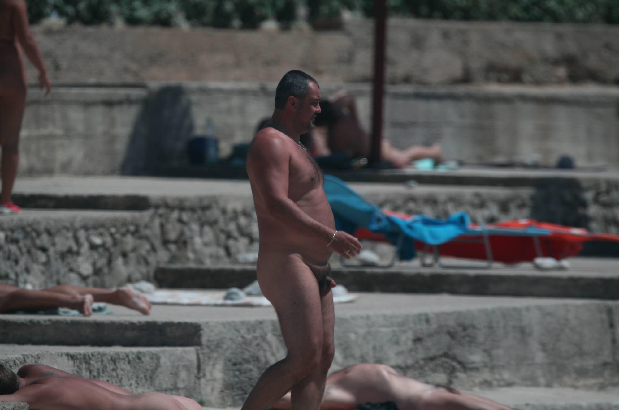 Nudist Pictures Cove Pyramid Close Shore - 2
