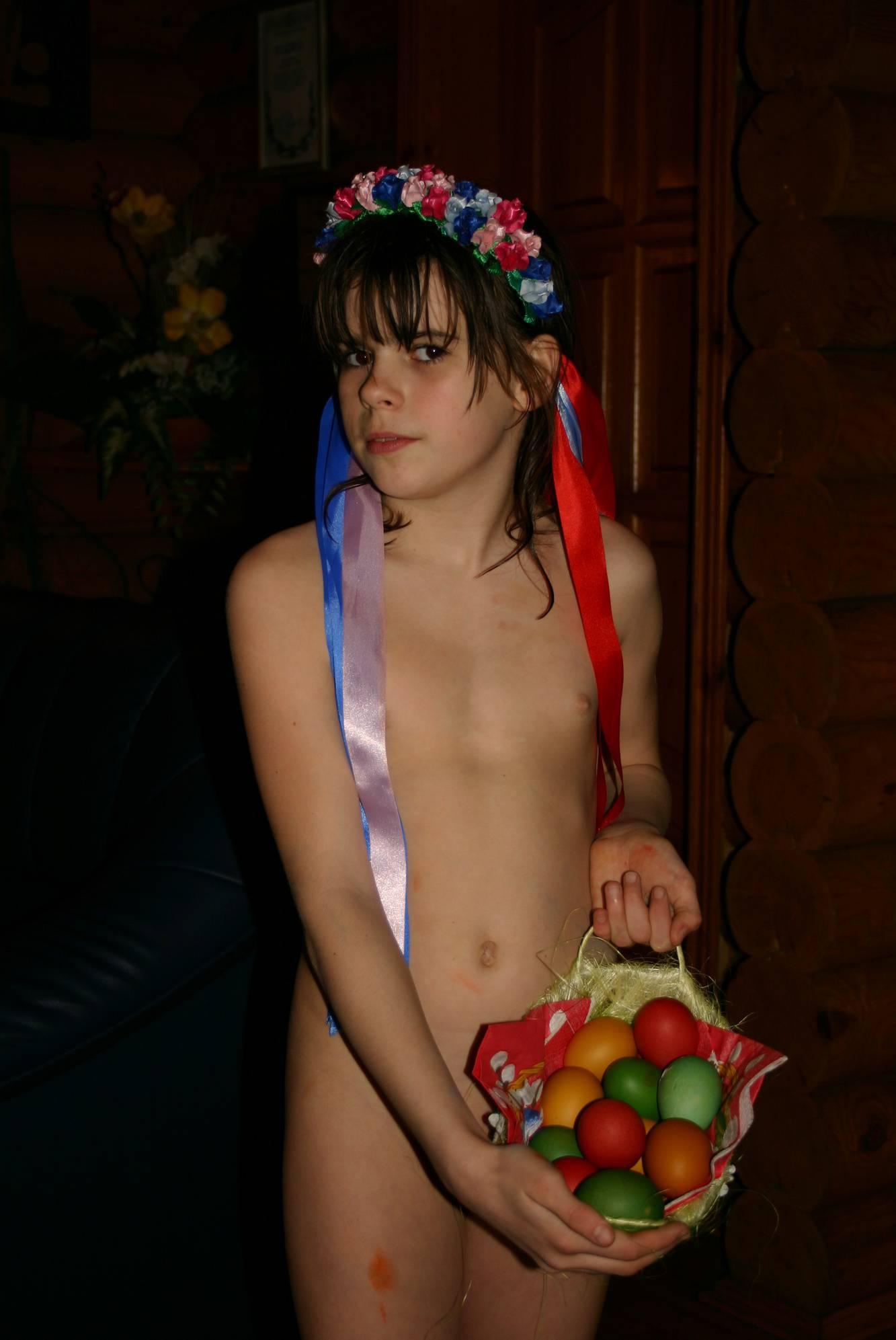 Easter Nudist Gift Baskets - 1