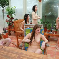 Girls' Pool Party Solarium