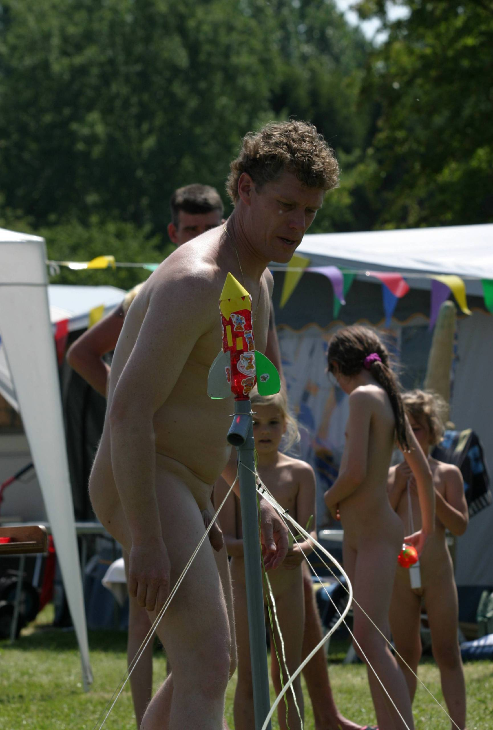 Holland Family Nudist Day - 2