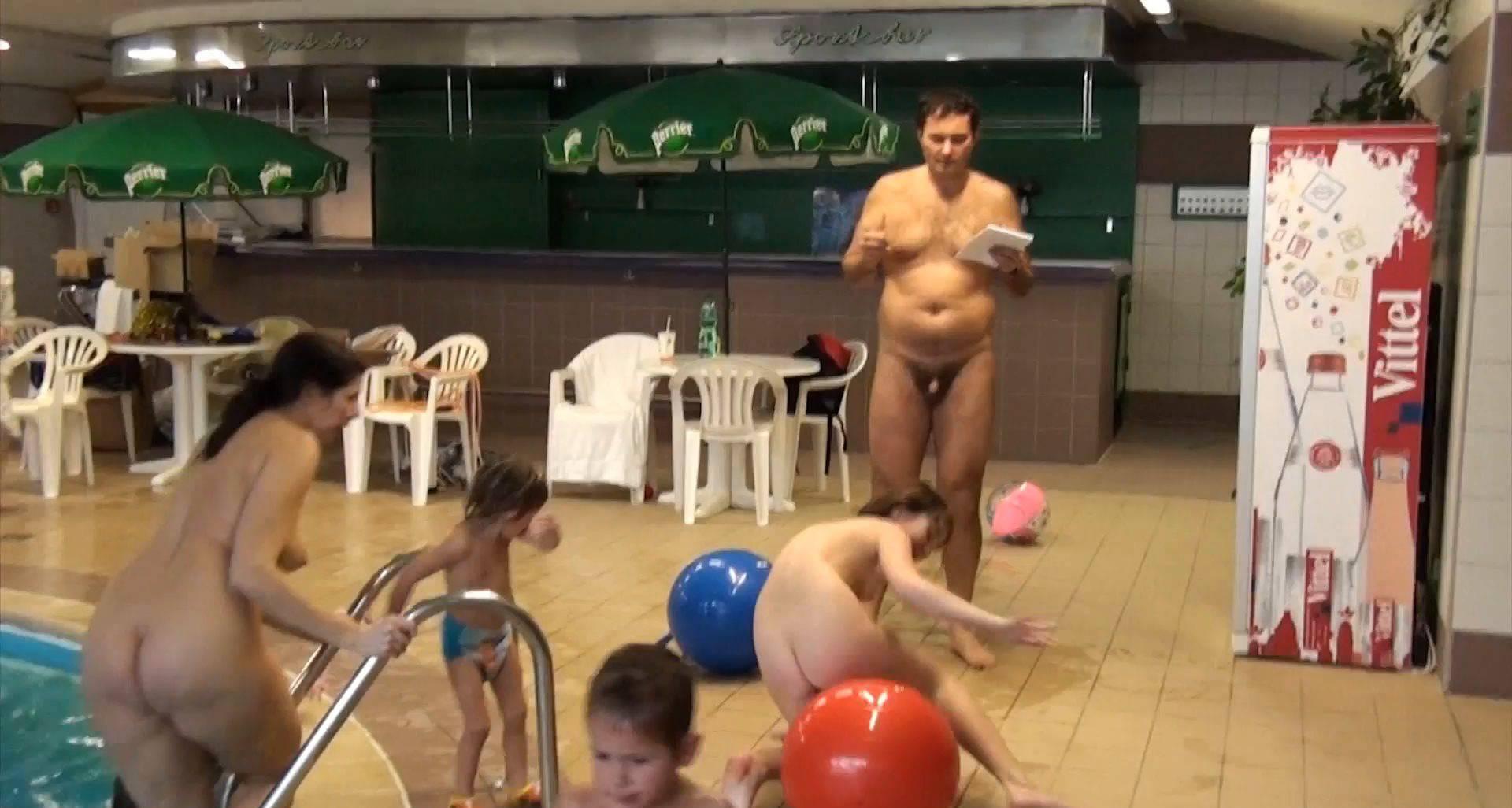 Nudist Videos Kids Indoor Dolphin Ride - 1