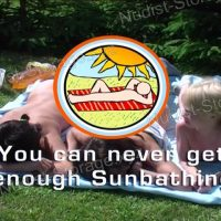 You can never get enough Sunbathing