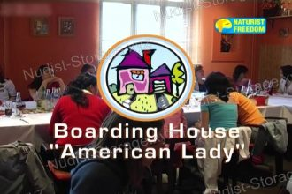 """Boarding House """"American Lady"""" - Naturist Freedom"""
