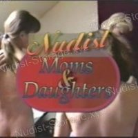 Nudist Moms and Daughters