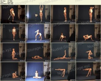 Naked Gymnast - Margo 05.03.2010 - Nudist Video
