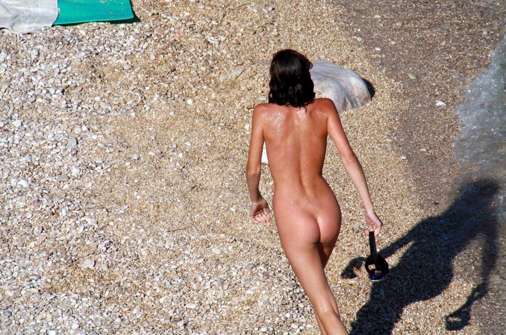 Nudist Pictures Naturist Girl Walk Through - 2