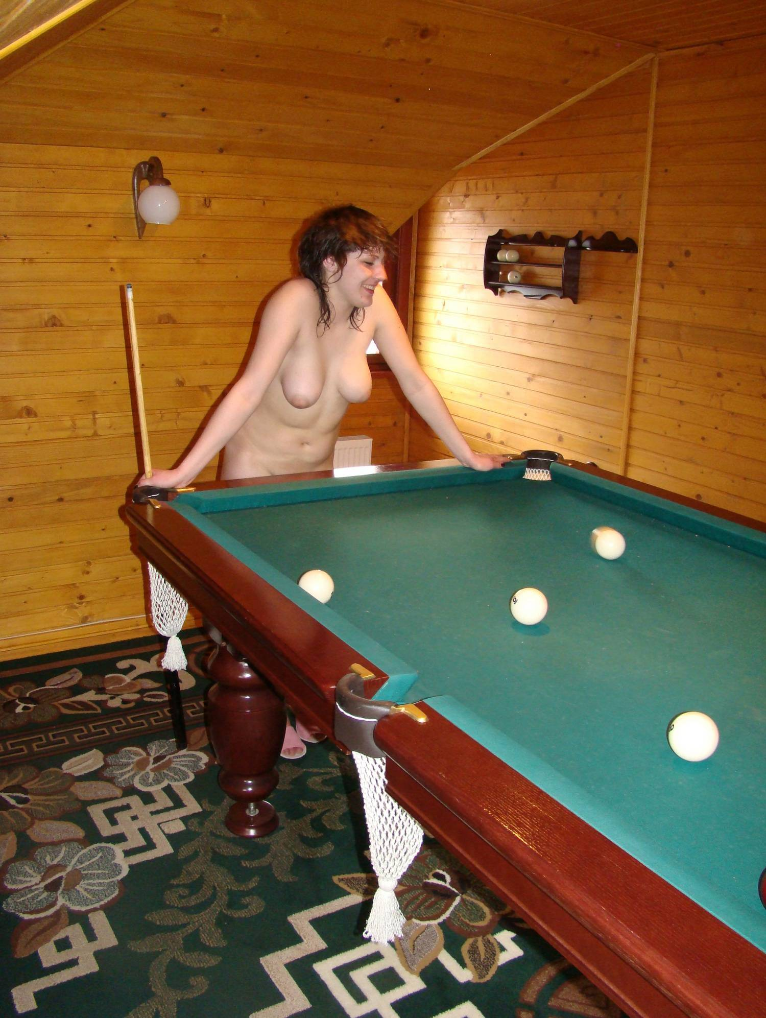 Naturist Girls Pool Gaming - 2