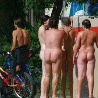 Naturist Outdoor Showers