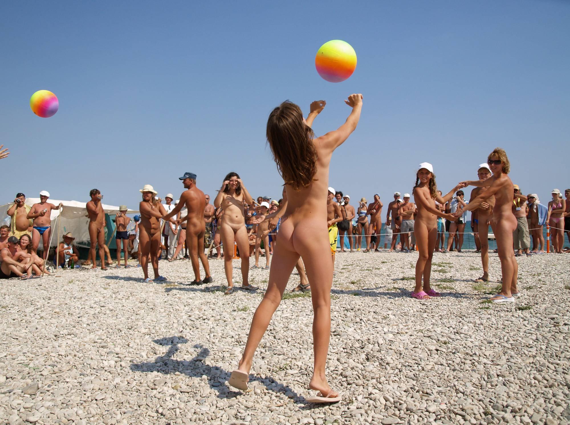 Nudist Beach Kid's Ball - 2