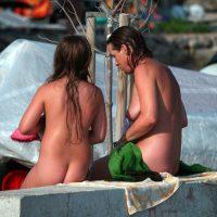 Nudist Family Wall Retreat