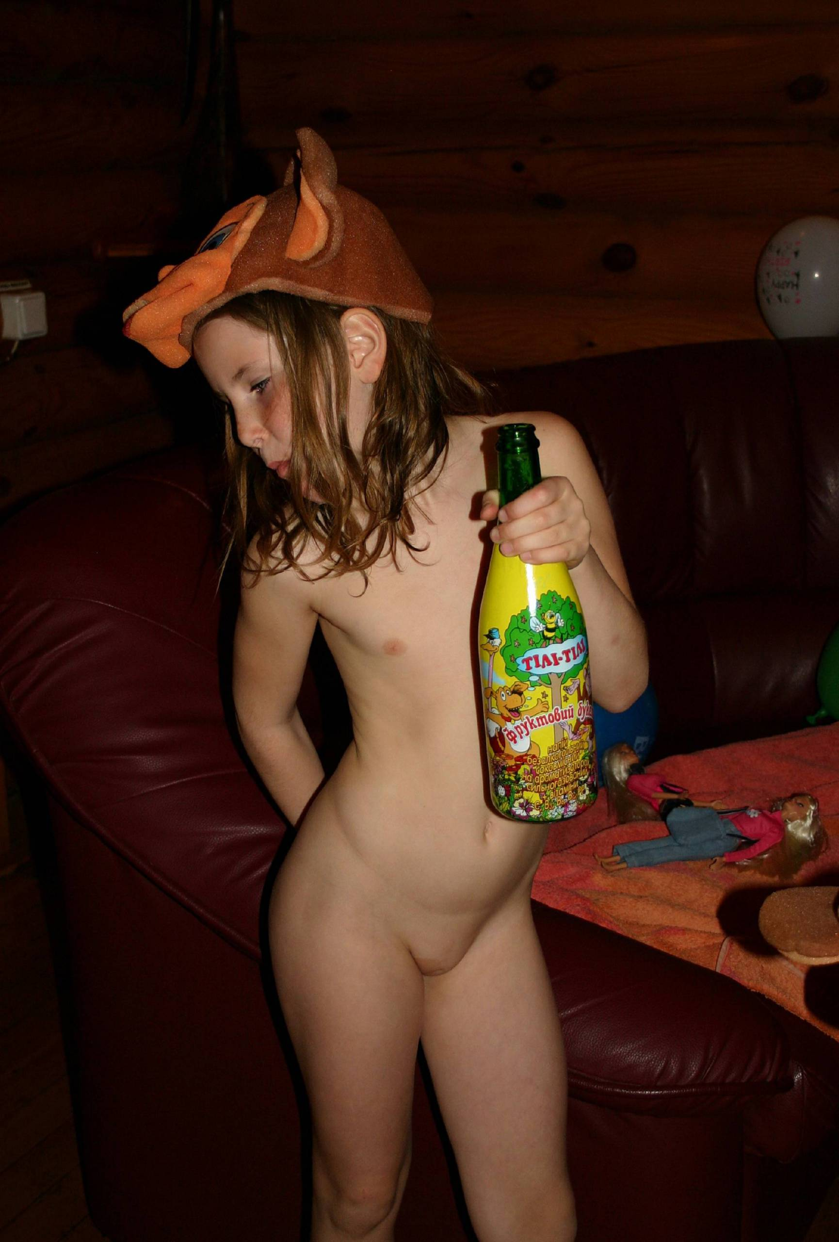 Nudist Pictures Nude Girl Birthday Party - 2