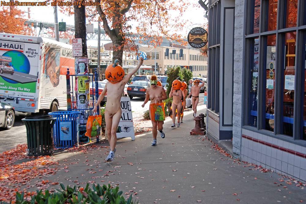 Nudist Pics Nude Pumpkin Runners (NPR) - 2