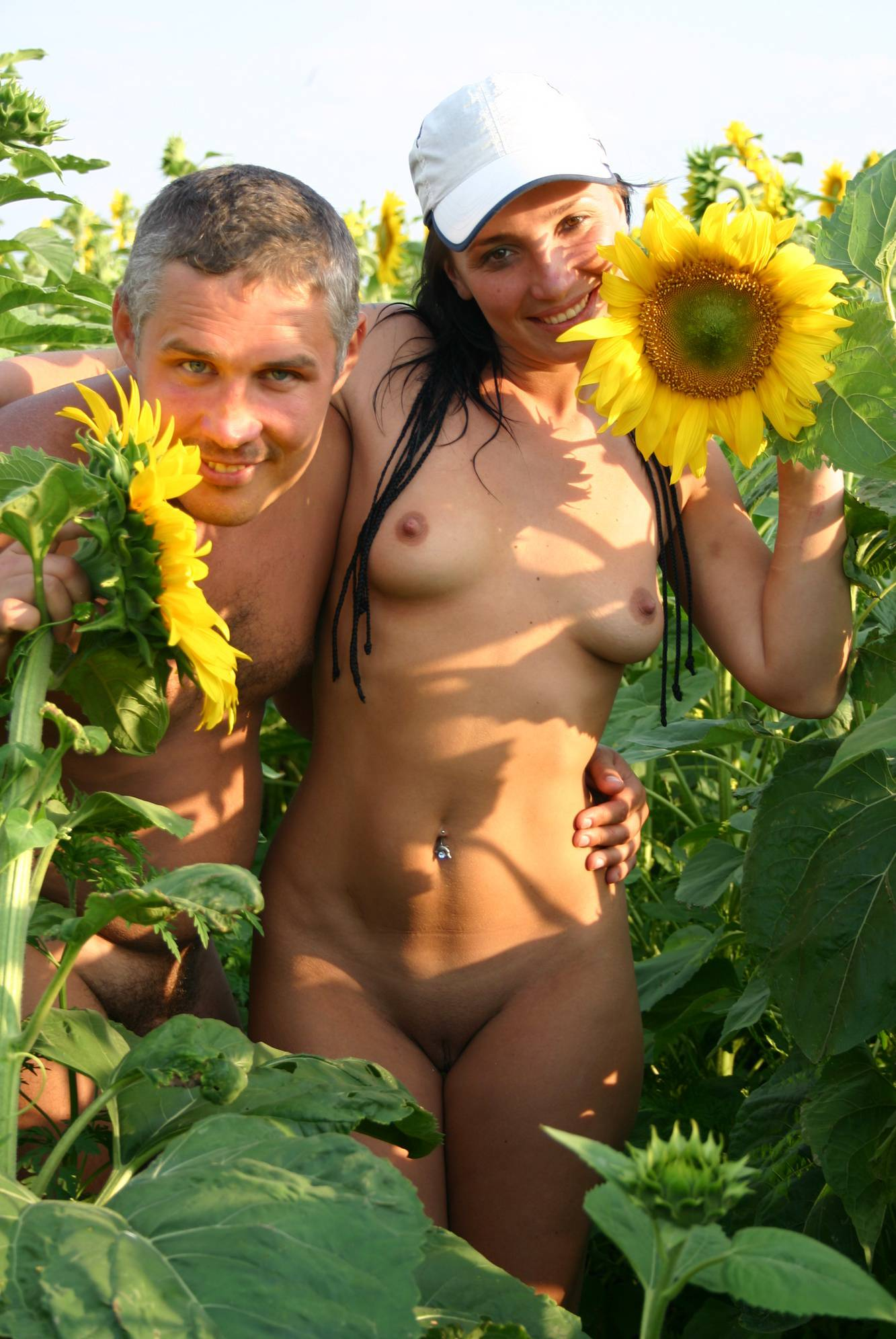 Outdoor Sunflower Fields - 2