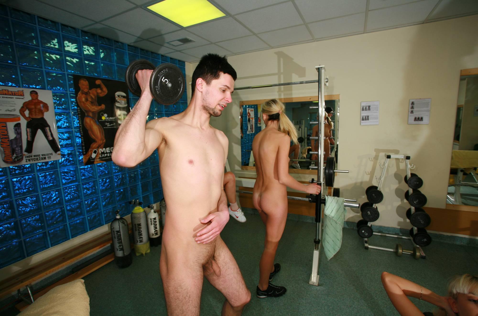 Nudist Gallery Scuba Gym 3rd Workout - 2