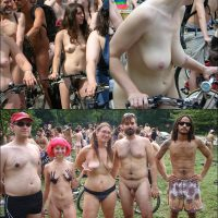 World Naked Bike Ride [WNBR] UK 2011