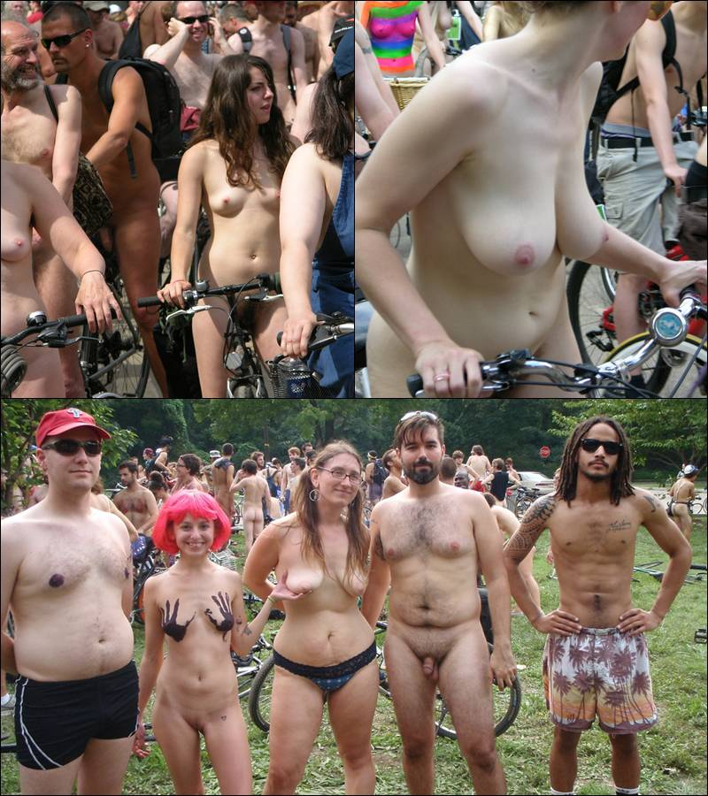 Nudist Gallery World Naked Bike Ride [WNBR] UK 2011 - Poster