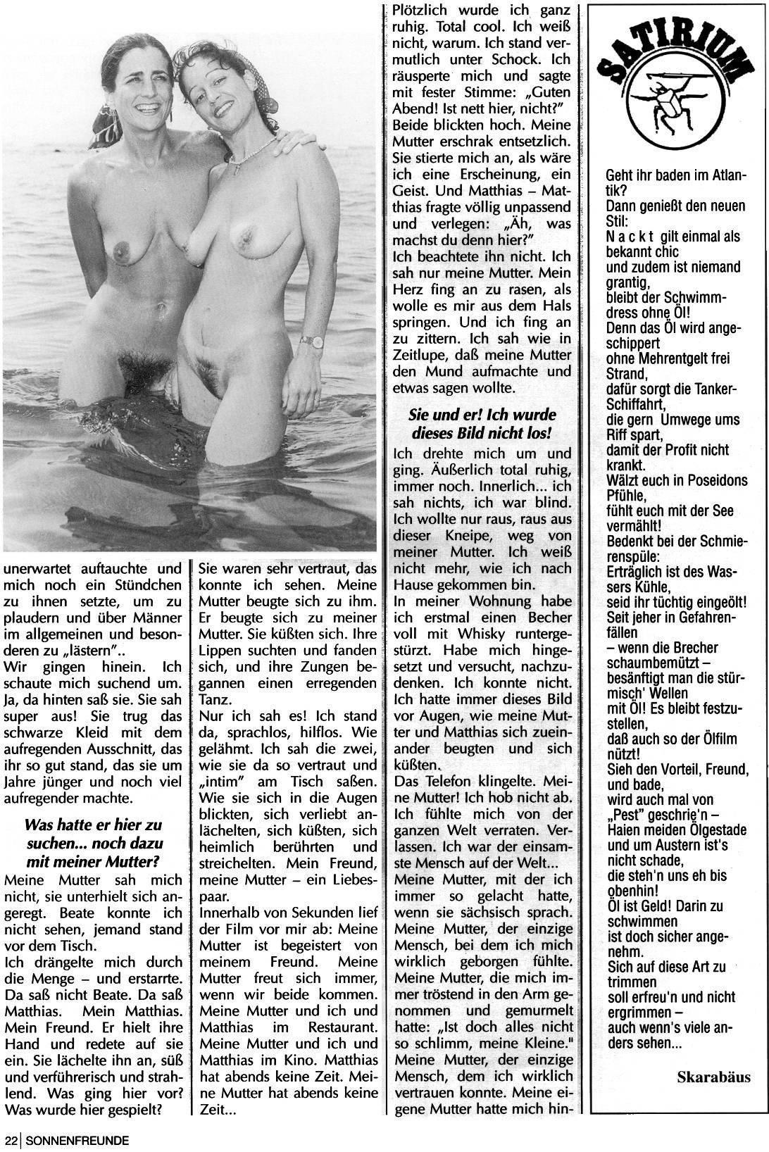 Nudist Magazines Sonnenfreunde 1993 Nr.7 - 1
