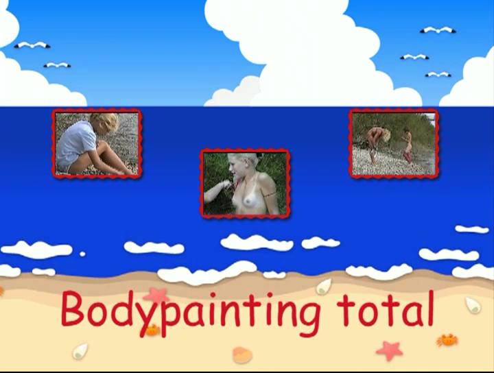 Nudist Videos Bodypainting total - Poster