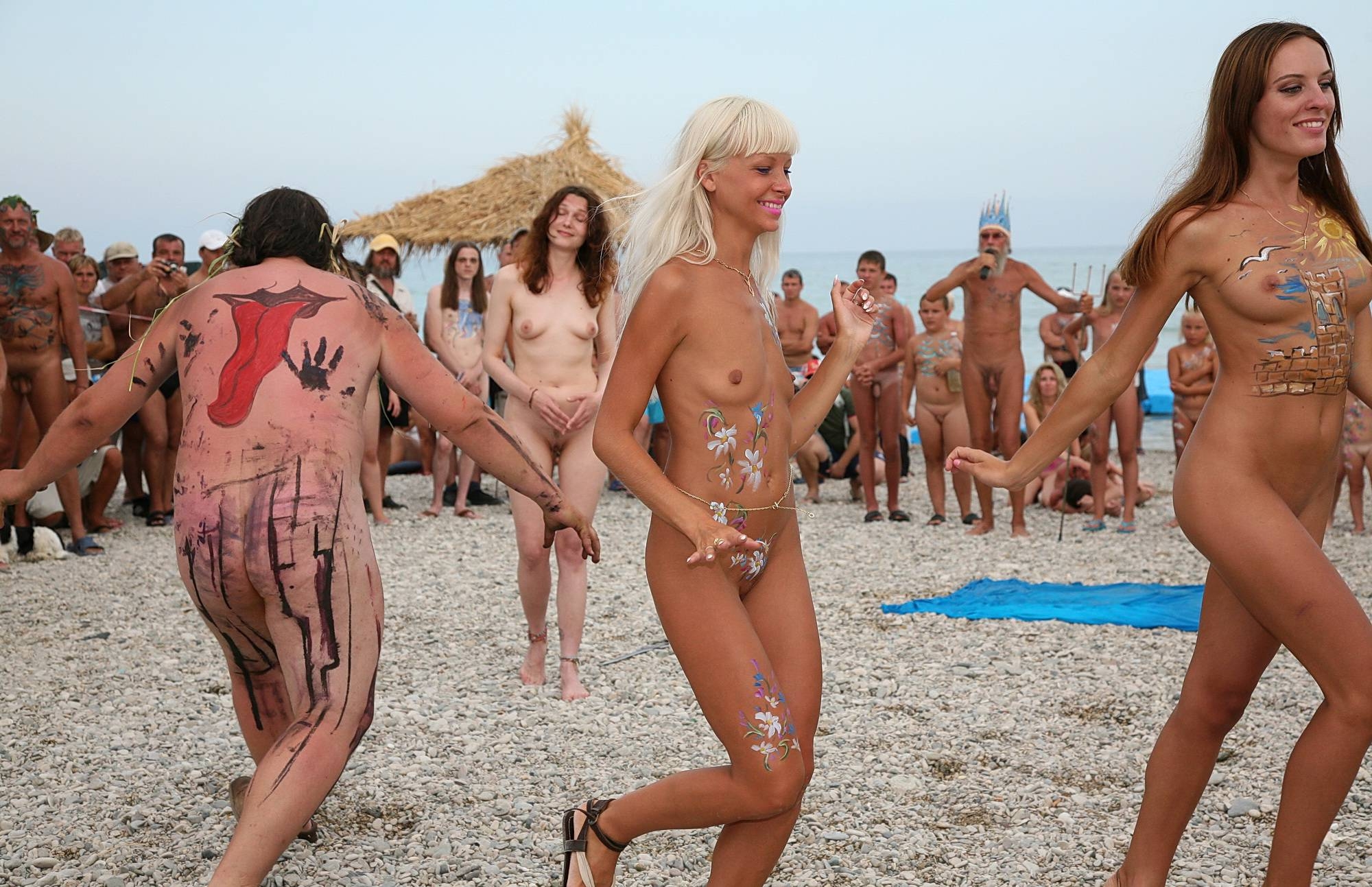 Body Art Demonstration - 1