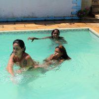 Brazil Pool Sunbath