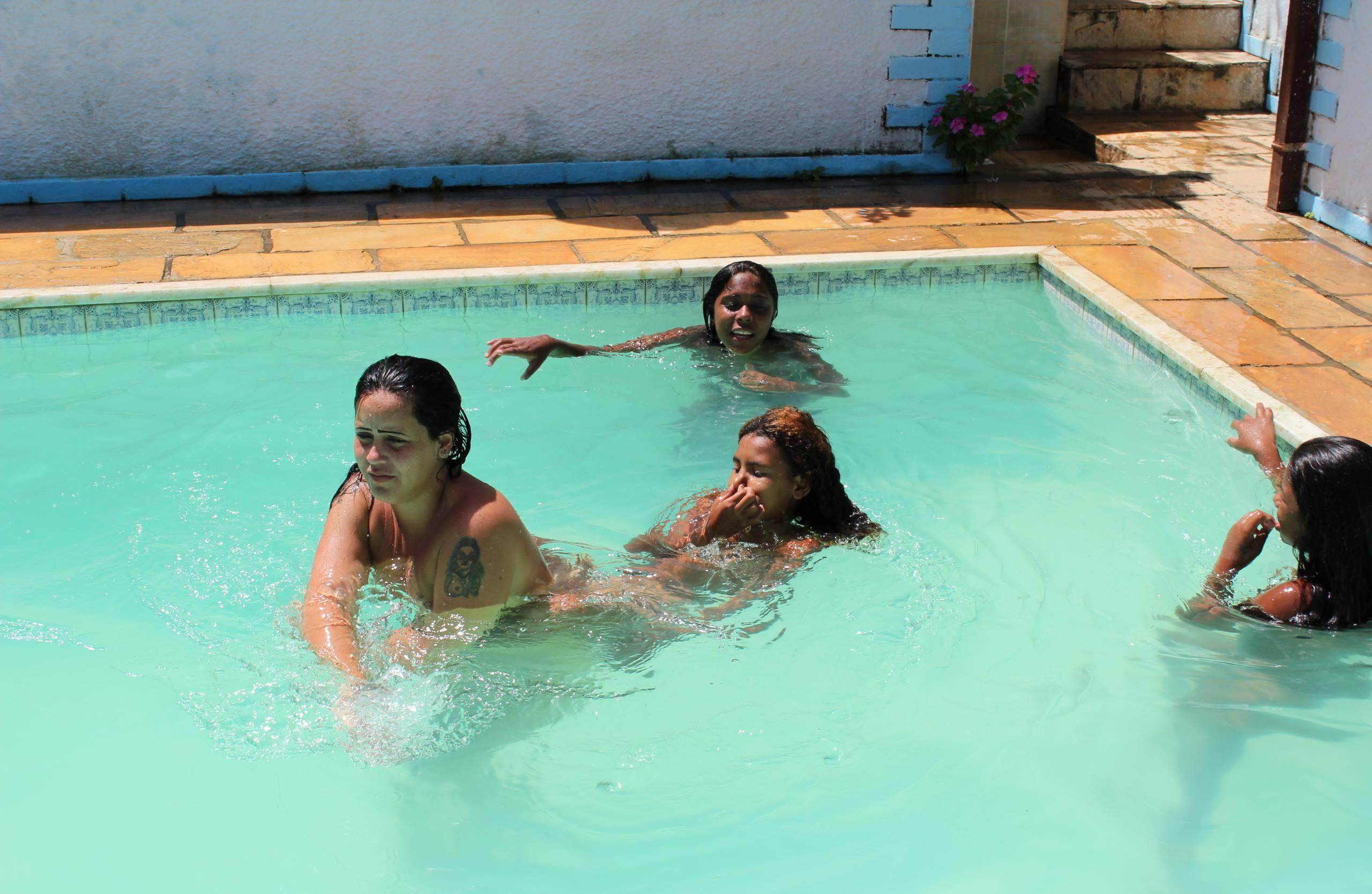Brazil Pool Sunbath - 1