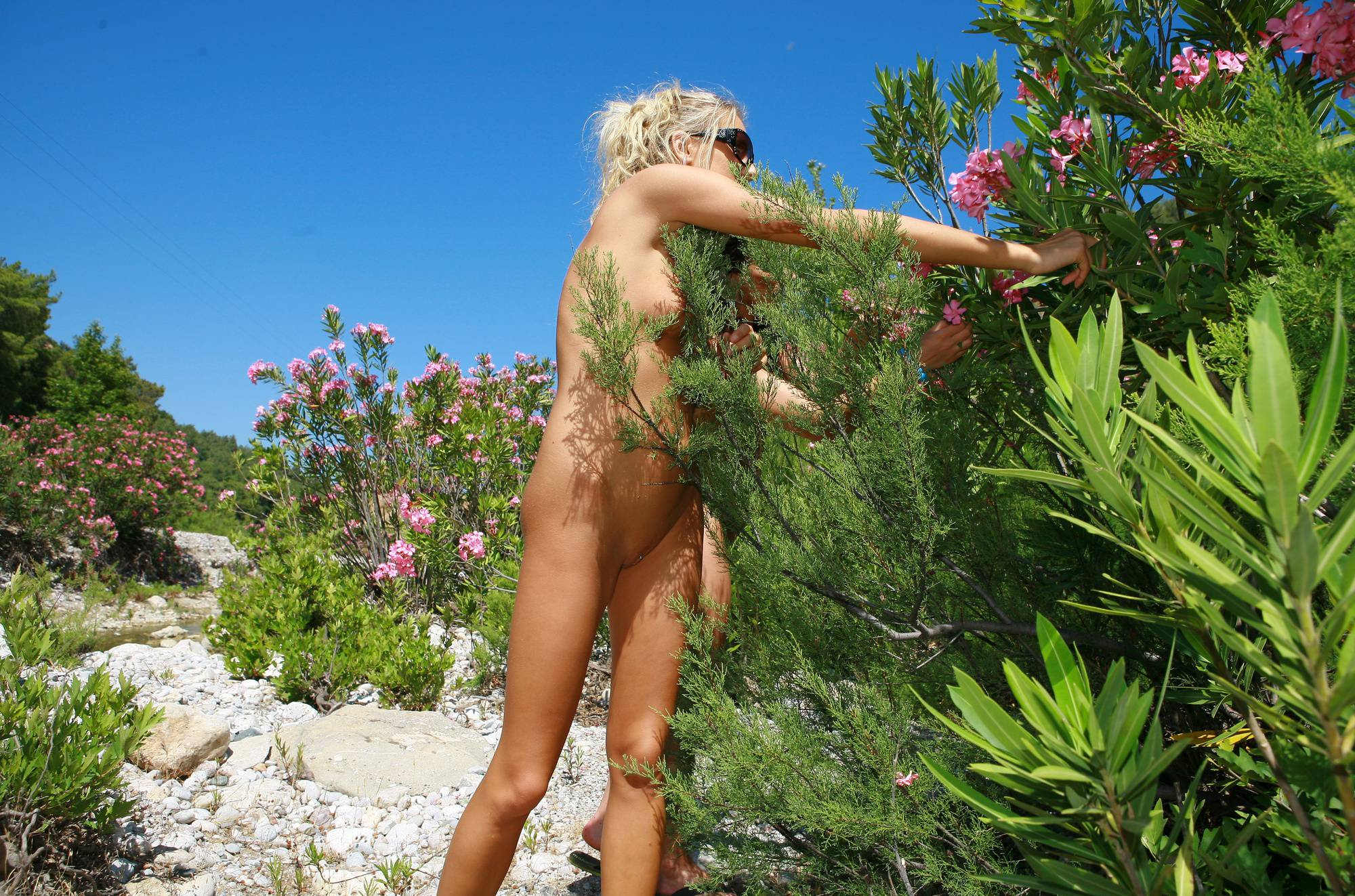 Nudist Pictures Greek Flowery Hill Top - 2