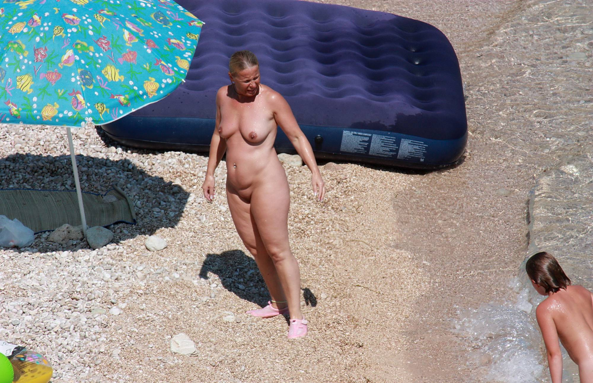 Nudist Pictures Naturists Rafting Along - 2