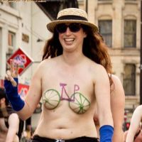 World Naked Bike Ride (WNBR) 2012 Part 1