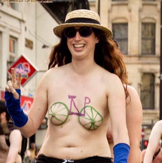 Nudist Photos World Naked Bike Ride (WNBR) 2012 Part 1 - 1