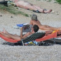 Croatian Baska Beach