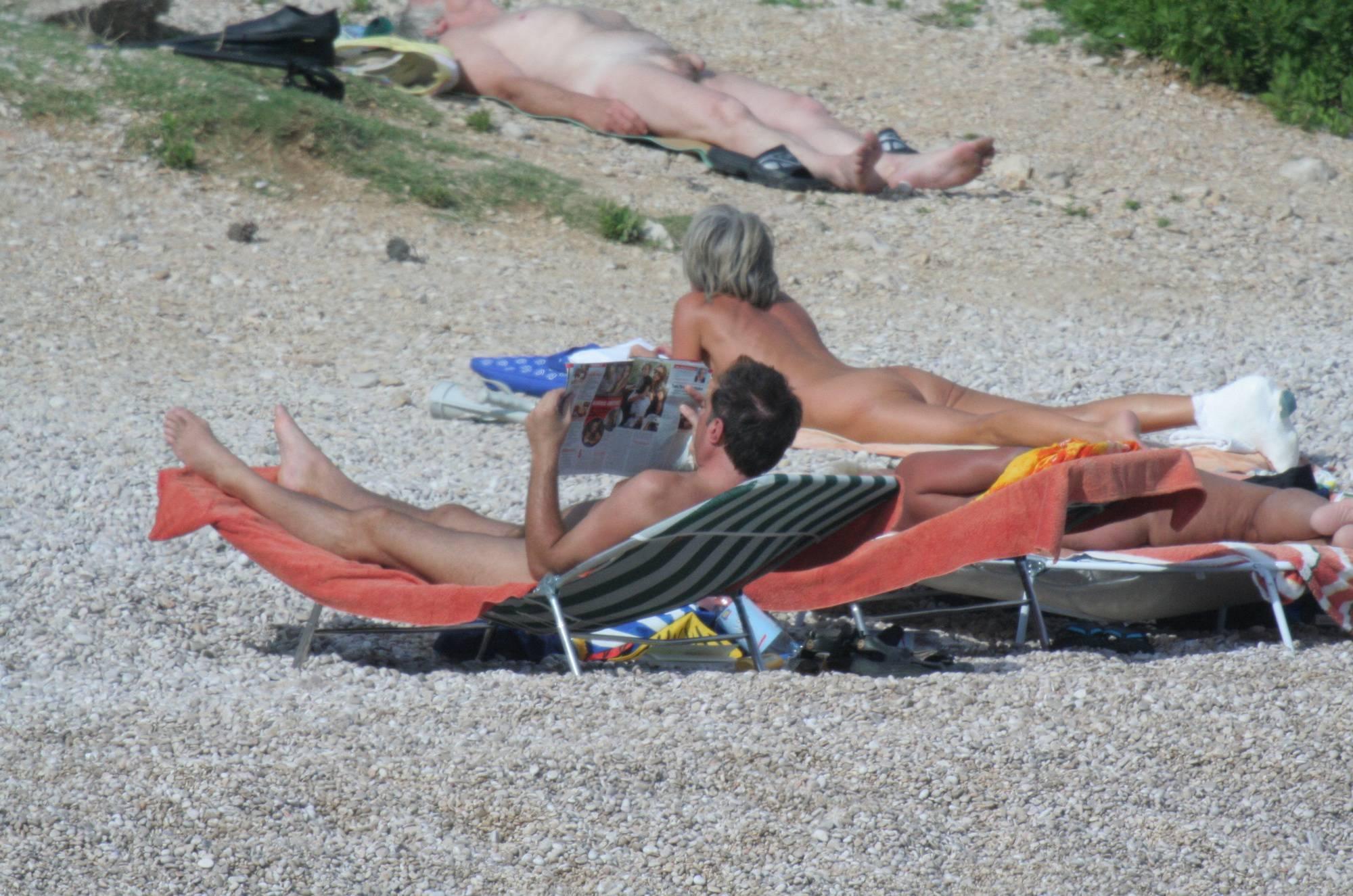 Nudist Pictures Croatian Baska Beach - 1
