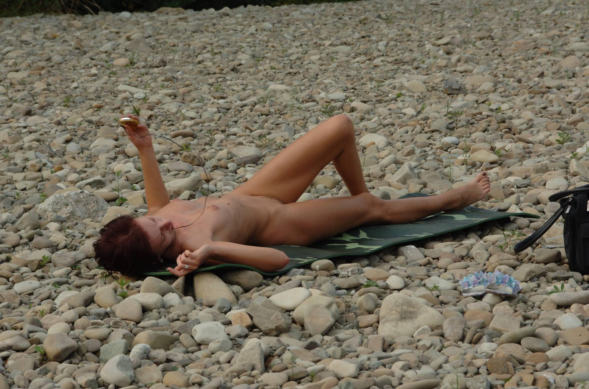Nudist Pics Dinah's Rocky Beach Walk - 1