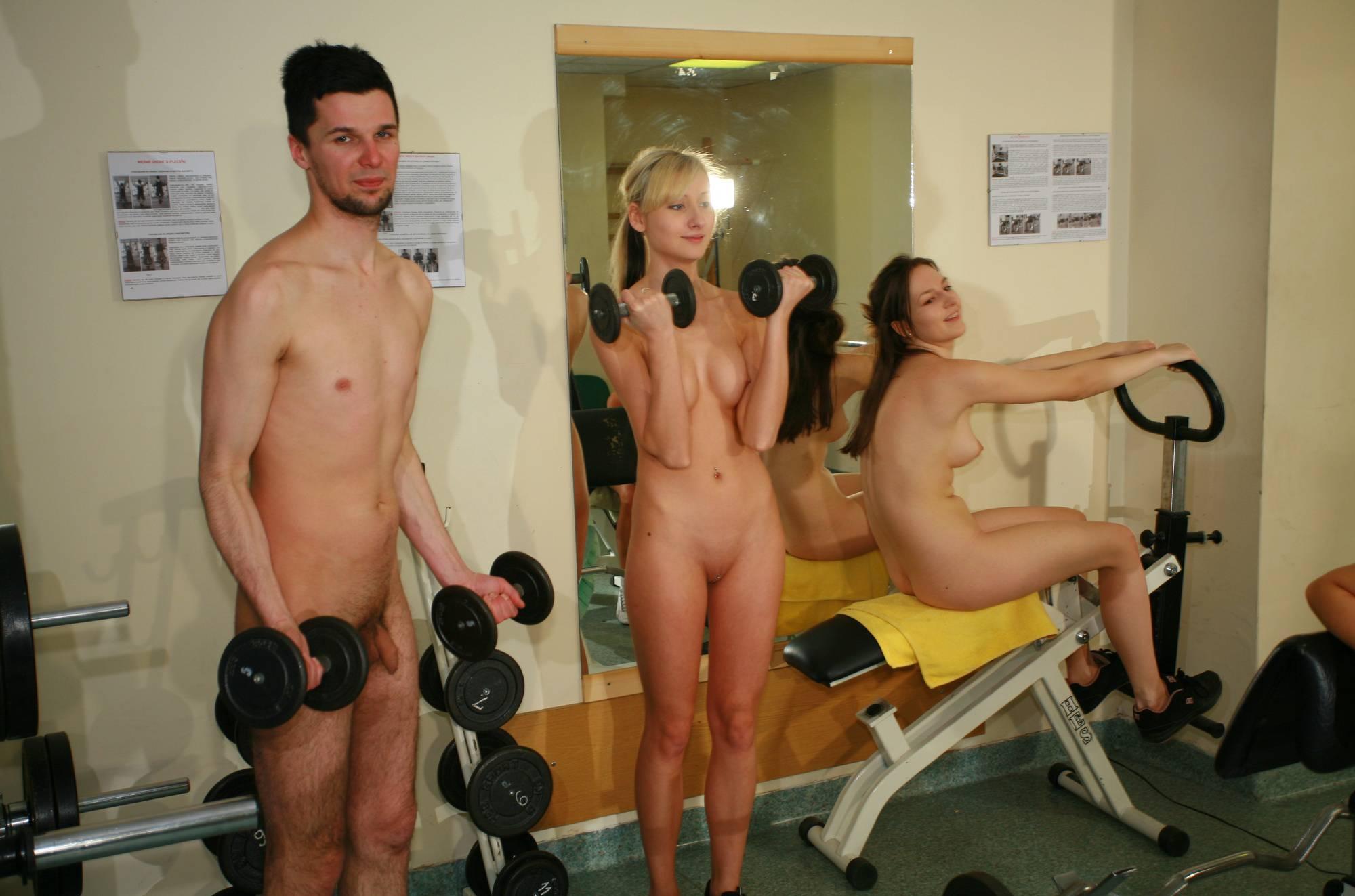 Nudist Photos Scuba Gym 3rd Workout - 1
