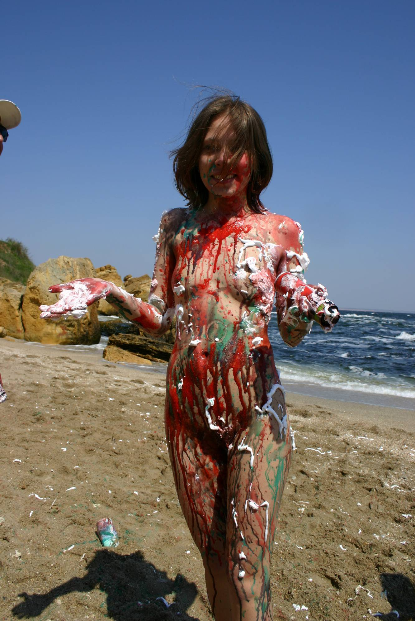 Beach Paint Fight Actions - 2