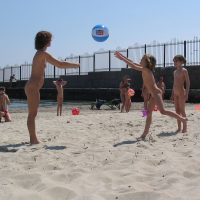 Beach Wall Kids Ball Game
