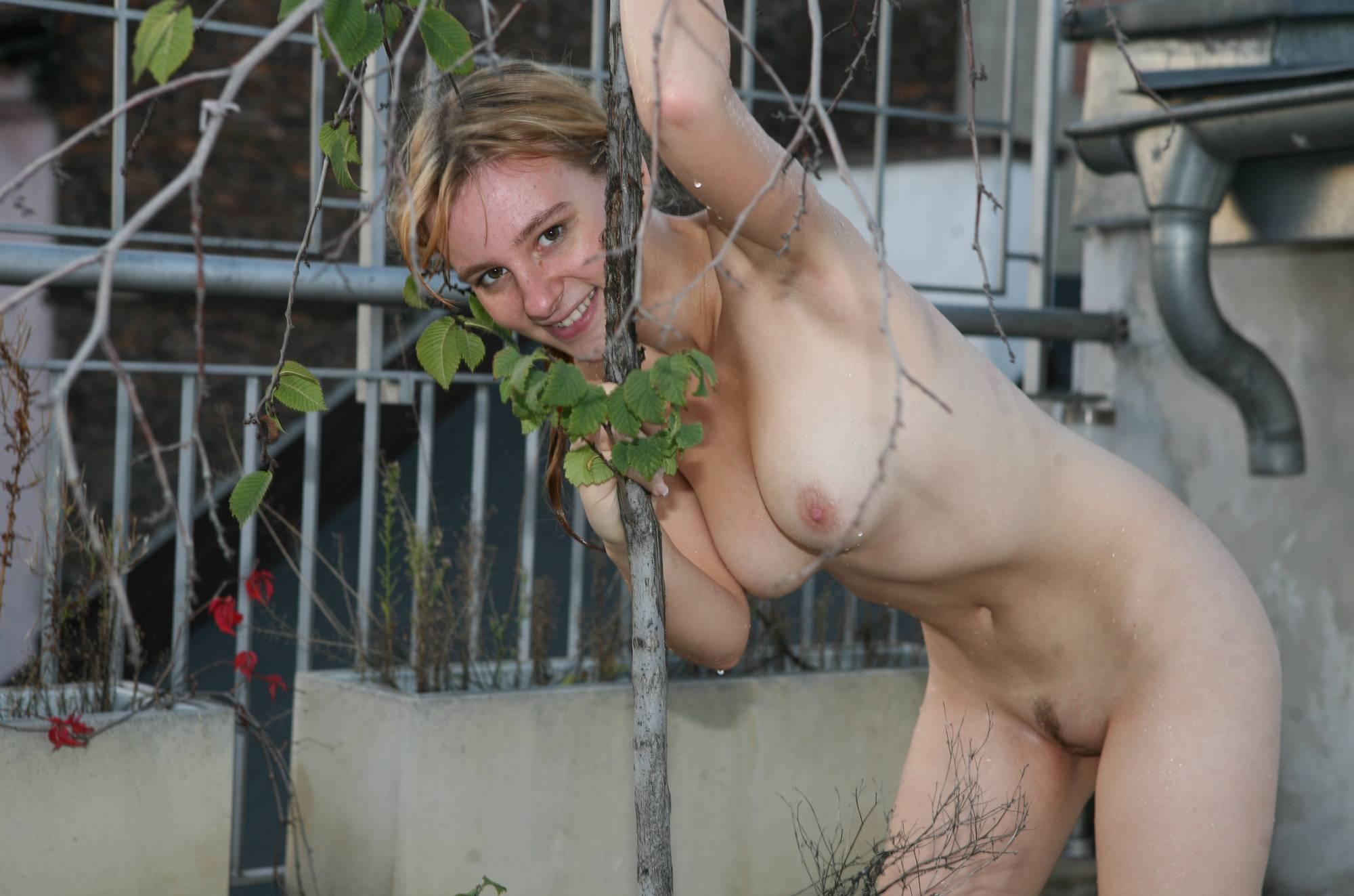 Nudist Pictures Jacuzzi Rooftop Explorers - 2