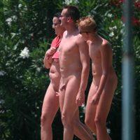 Nudist Sunny Day Friends