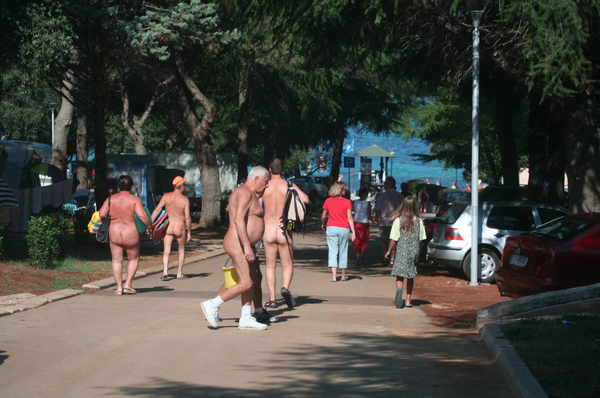 Nudist Photos Pier FKK Park In Motion - 2