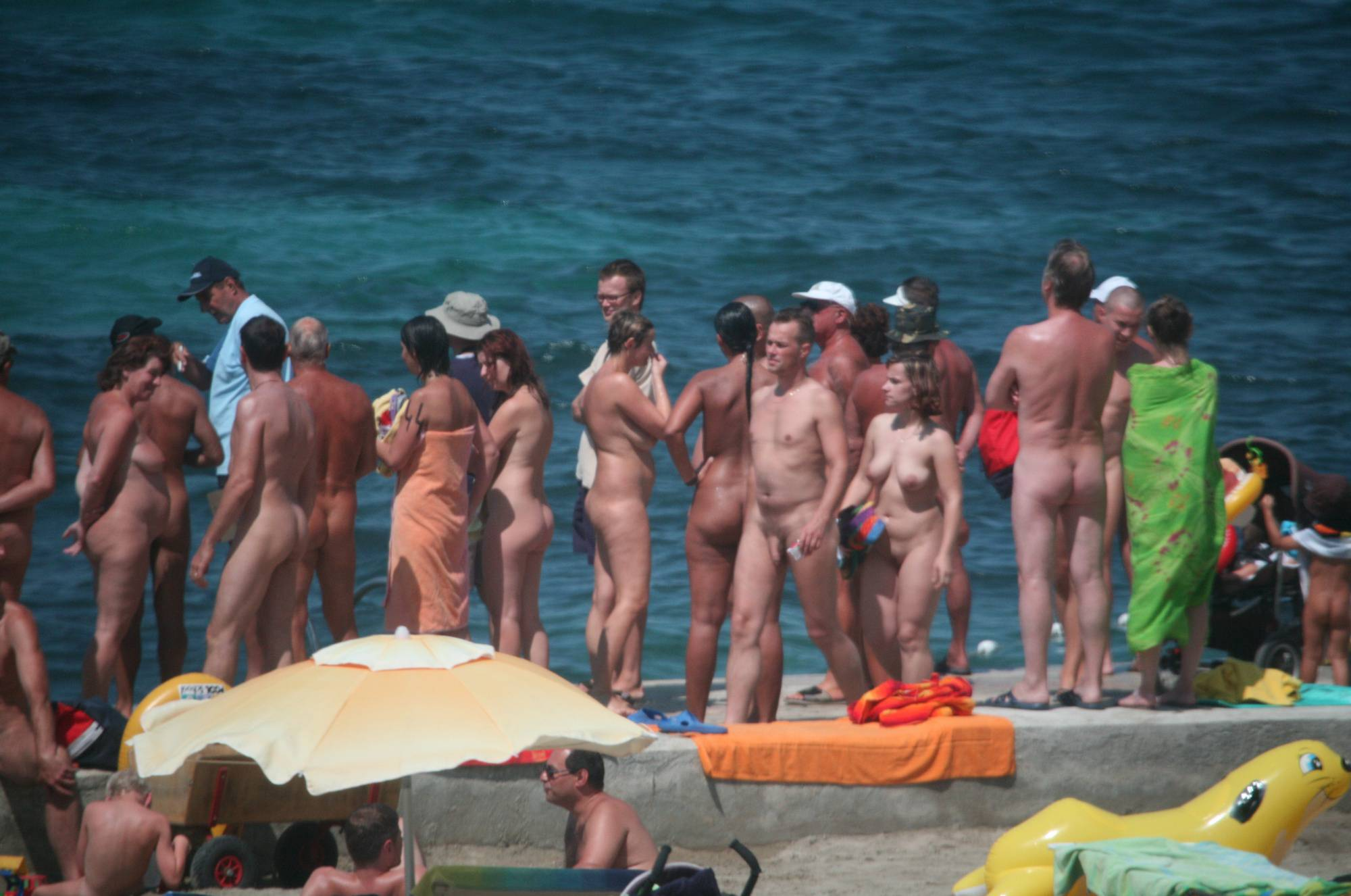 Nudist Pictures Pier Sand Square Group - 2
