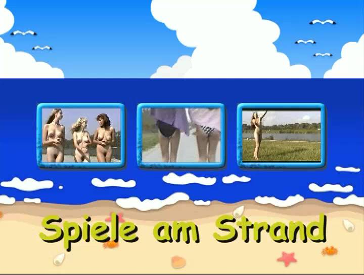 Nudist Videos Spiele am Strand - Poster