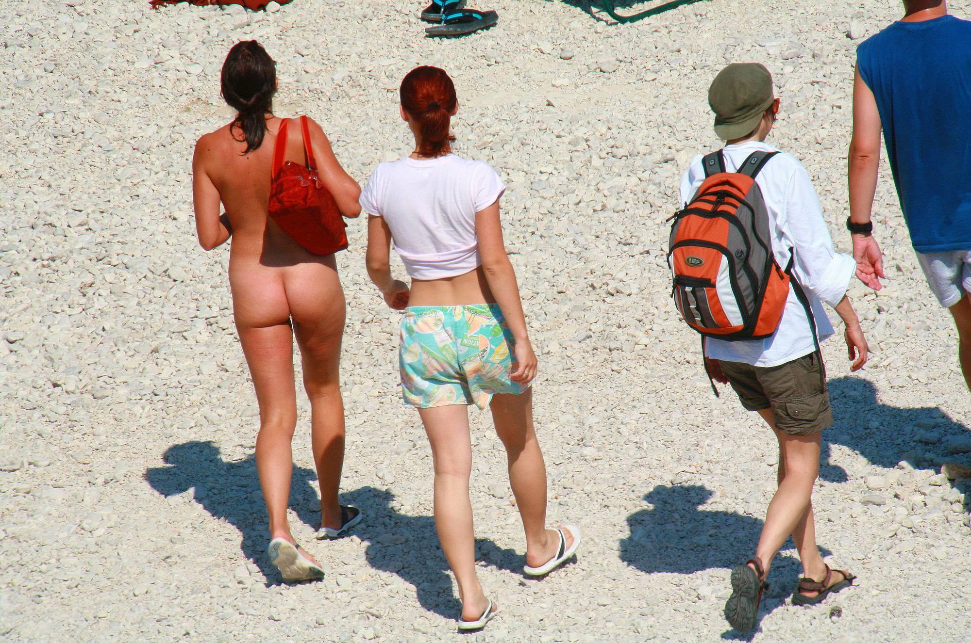 Nudist Photos Ula FKK Beach Sand Pass - 2