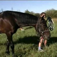 When Horses and Naturists Meet – Naturism in Russia 2000 Series