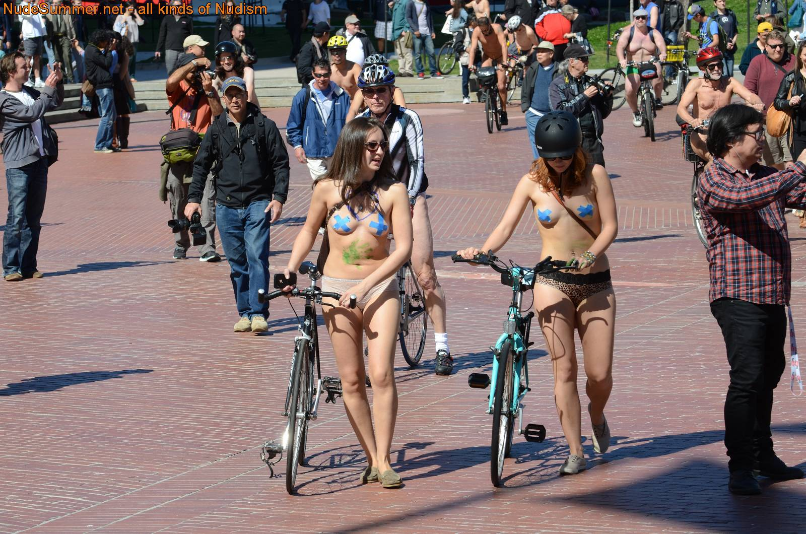 Nudist Gallery World Naked Bike Ride (WNBR) 2013 - 2