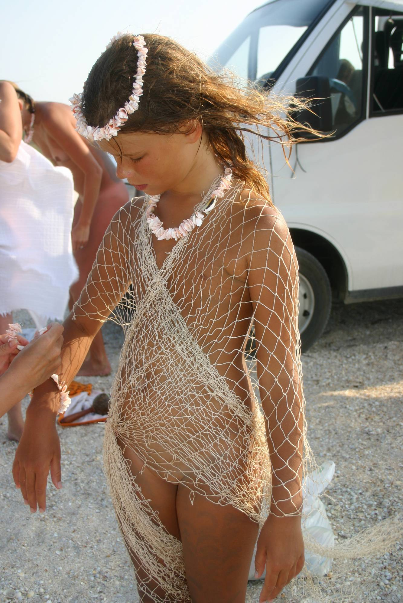 Nudist Gallery Young Beach Fishing Nets - 2