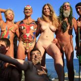 Nudist Pictures Blue Sky Group Line-Up - 1